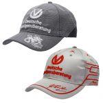 Michael Schumacher DVAG Driver Cap Bundle 2010 + 2011
