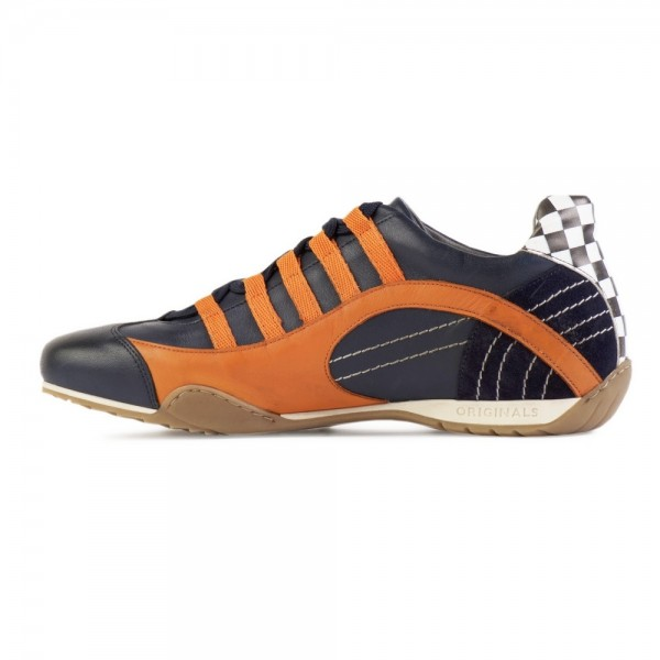 Gulf Racing Sneaker Indigo orange