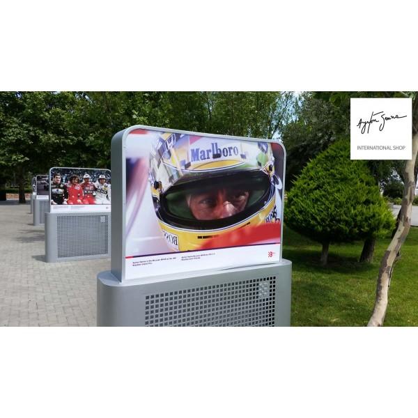 17 06 2016 - Baku shows tribute to Ayrton Senna