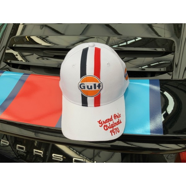 Gulf GPO 1970 Cap white