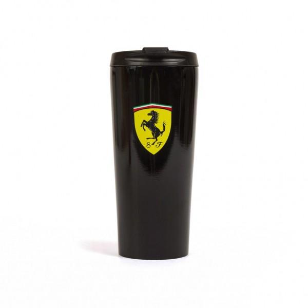 Scuderia Ferrari Thermo-Tasse schwarz