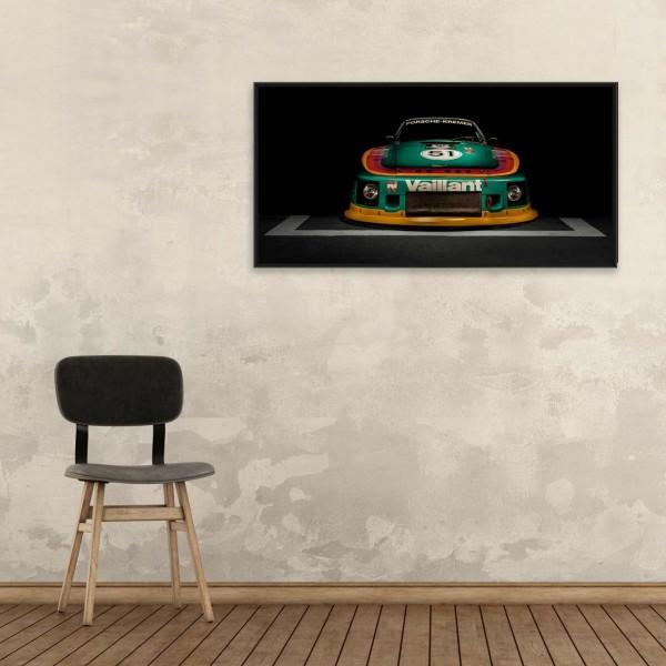 Porsche Kremer Art Print - Porsche 935 K2 Vaillant - Front