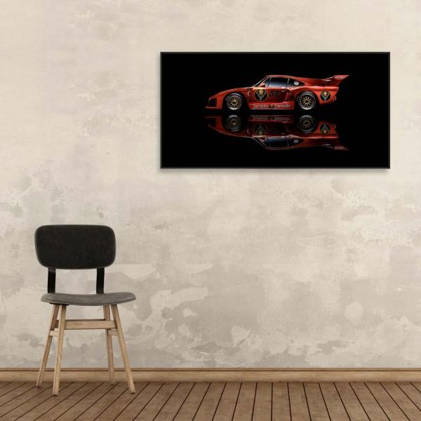 Porsche Kremer Art Print - Porsche 935 K3 Jägermeister - Side