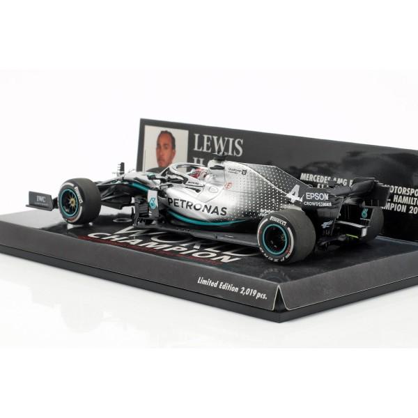 Lewis Hamilton Mercedes-AMG F1 W10 #44 USA GP World Champion F1 2019 1/43
