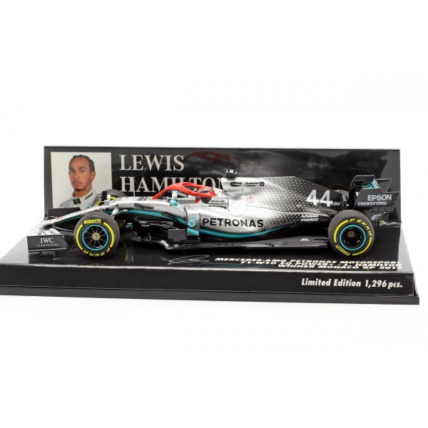 Lewis Hamilton Mercedes-AMG F1 W10 #44 Monaco GP World Champion F1 2019 1/43