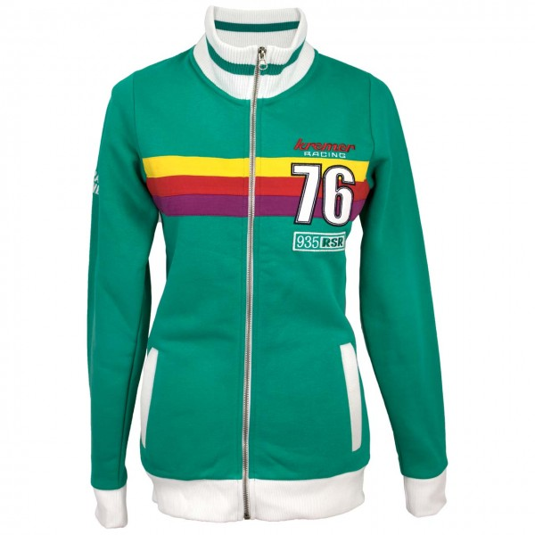 Ladies Sweat Jacket Kremer Racing 76 front