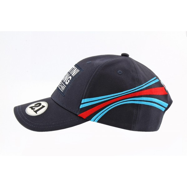 Porsche Baseball-Cap Martini Racing #21 dark blue