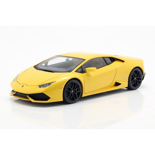 Lamborghini Huracan LP610-4 Year of manufacture 2014 yellow 1/18