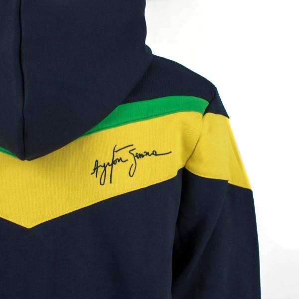 Ayrton Senna Hoody Racing detail 2