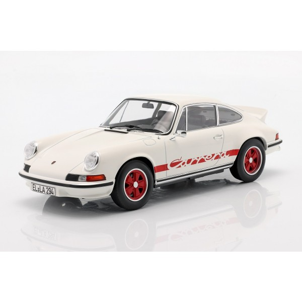 Porsche 911 Carrera RS 2.7 Year of manufacture 1973 white / red 1/18
