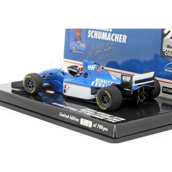 Michael Schumacher Ligier JS39B Test Estoril Formel 1 1994 1:43
