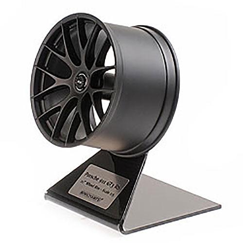 Porsche 911 GT3 RS Wheel Rim Satin Black 1/5