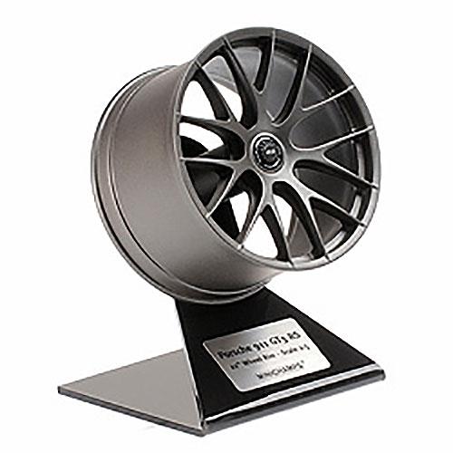 Porsche 911 GT3 RS Wheel Rim Satin Platinum 1/5