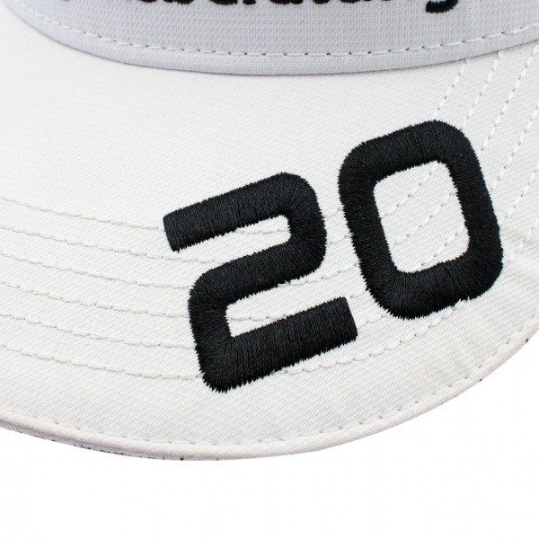 Mick Schumacher Cap 2020 white
