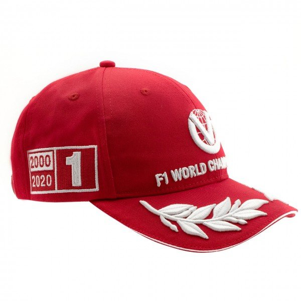 Michael Schumacher Cap World Champion 2000 Limited Edition red
