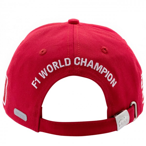 Michael Schumacher Cap World Champion 2000 Limited Edition rouge