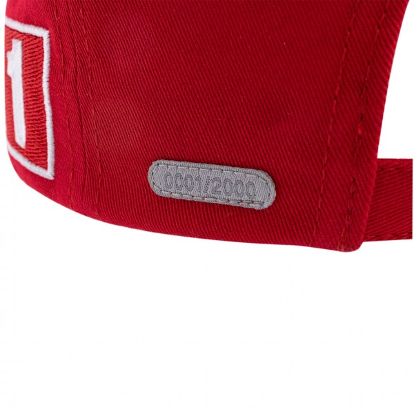 Michael Schumacher Cap World Champion 2000 Limited Edition rouge