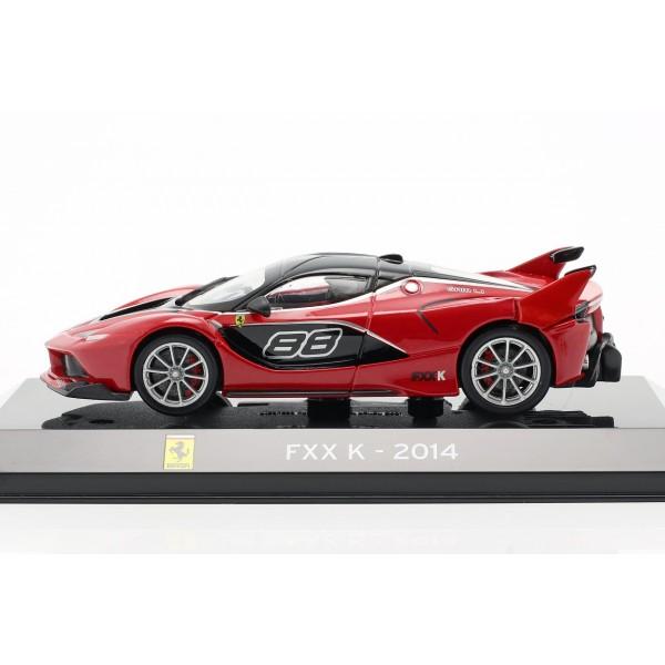 Ferrari FXX K #88 Year of construction 2014 red / black 1/43