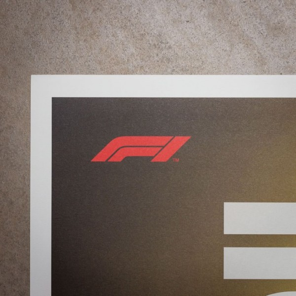 Poster Formula 1 Decades - 2020s The Future Lies Ahead