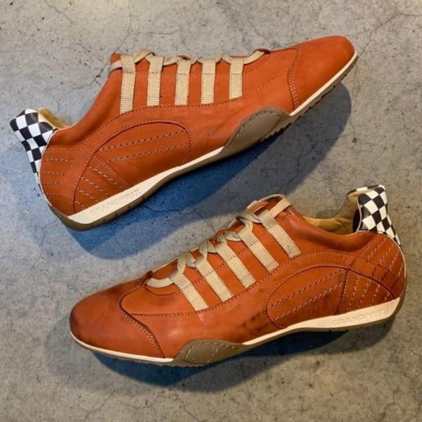 Gulf Racing Sneaker Vintage Orange