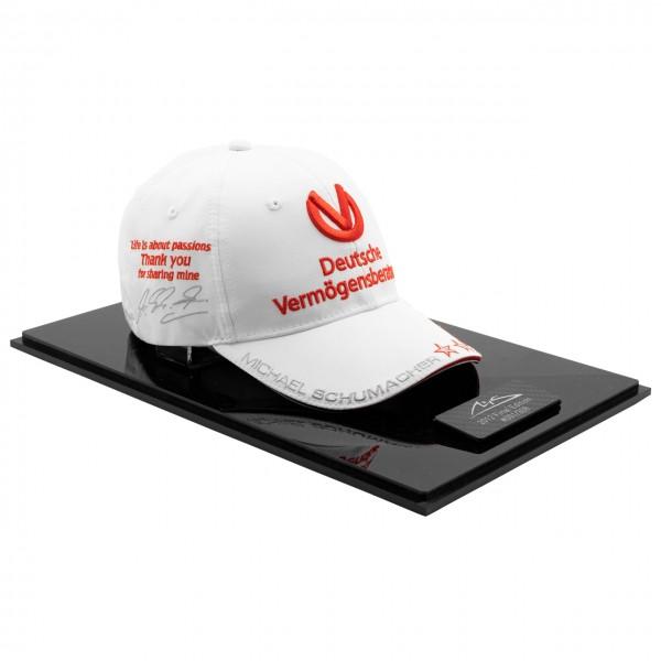 Michael Schumacher Casquette Personelle Brésil GP 2012 Edition finale