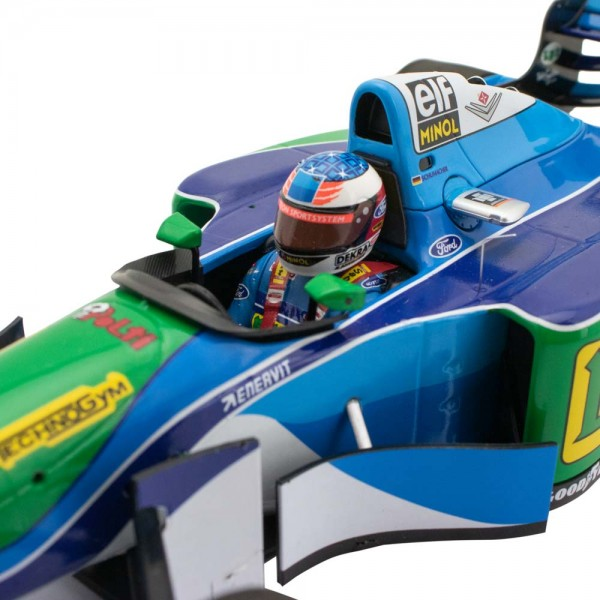 Michael Schumacher Benetton Ford B194 Champion du monde 1994 1/18