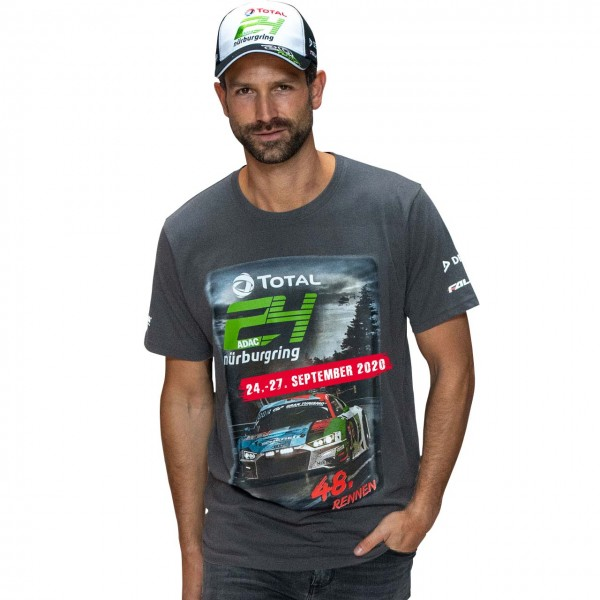 24h-Race T-Shirt 2020 grey