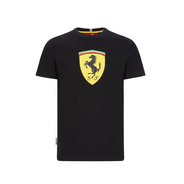 Scuderia Ferrari Maglietta Classic nero