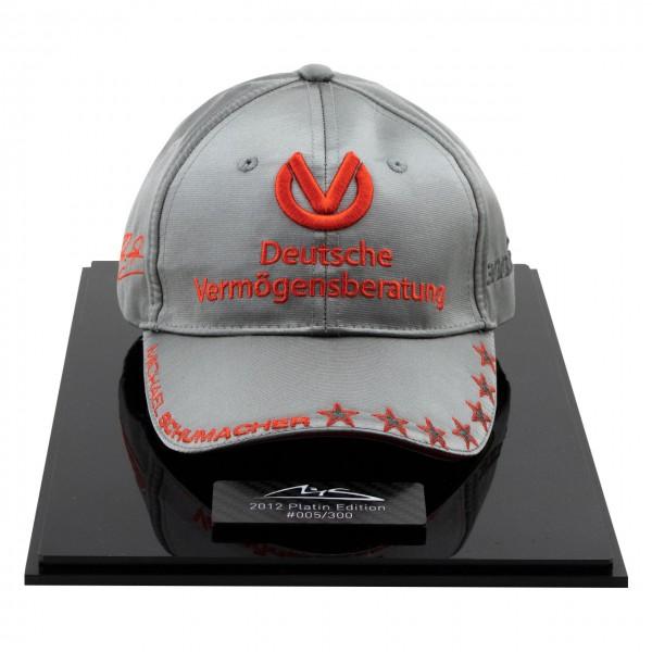 Michael Schumacher Personal Cap 300e GP 2012 Èdition Platine