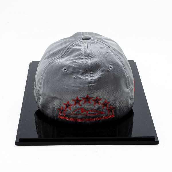 Michael Schumacher Personal Cap 300th GP 2012 Platinum Edition