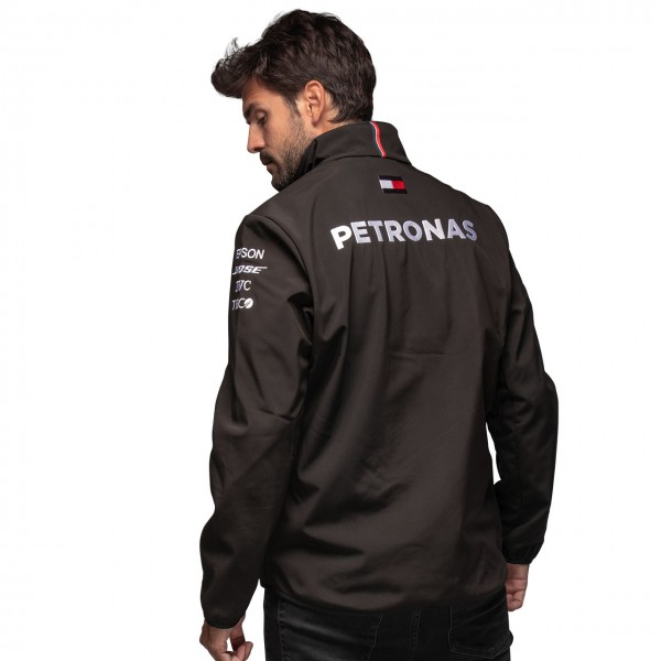 Mercedes-AMG Petronas Team Softshell Jacket black