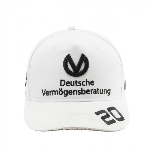 Cappello Mick Schumacher 2020 bianco
