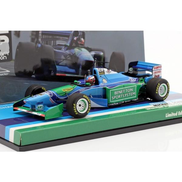 Michael Schumacher Benetton B194 #5 Europa GP Campeón del Mundo de F1 1994 1/43