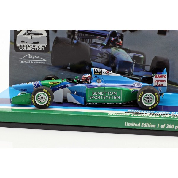 Michael Schumacher Benetton B194 #5 European GP F1 World Champion 1994 1/43