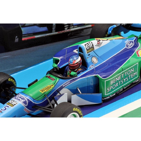 Michael Schumacher Benetton B194 #5 GP d'Europe Champion du monde de F1 1994 1/43