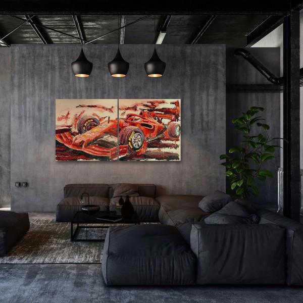 Artwork Sebastian Vettel 2019 #0044