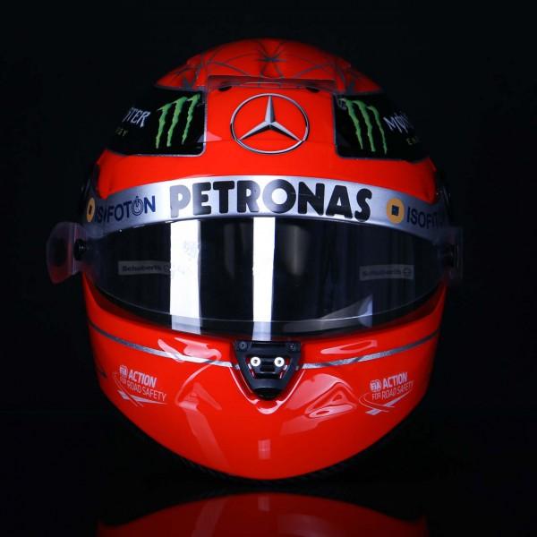 Michael Schumacher Réplica de casco 1:1 2012