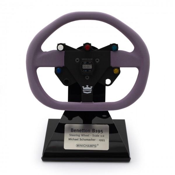 Michael Schumacher Benetton Renault B195 Steering Wheel 1/2