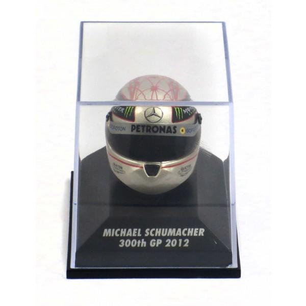 Casco replica Michael Schumacher 300esimo GP Spa 2012 1:/8