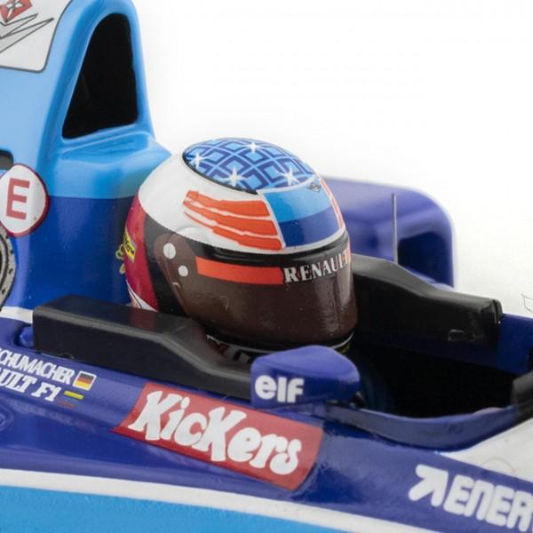 Michael Schumacher Benetton Renault B195 World Champion 1995 1/18