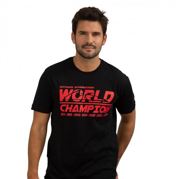 Michael Schumacher T-Shirt World Champion black