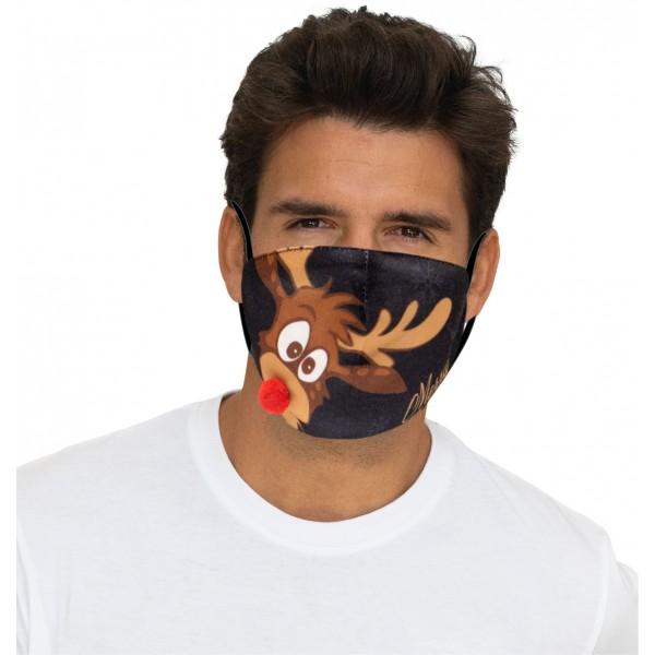 """Mund-Nasen Maske """"Rudolph"""""""