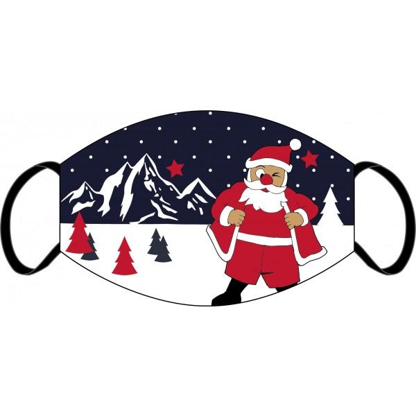 """Mund-Nasen Maske """"Santa"""""""