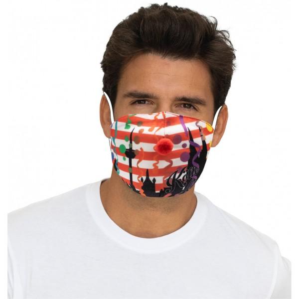 "Mund-Nasen Maske ""Kölle Alaaf"""