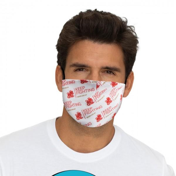 Keep Fighting Mund-Nasen Maske