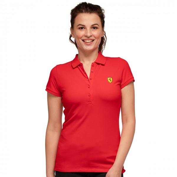 Polo Scuderia Ferrari Classique Polo Femmes