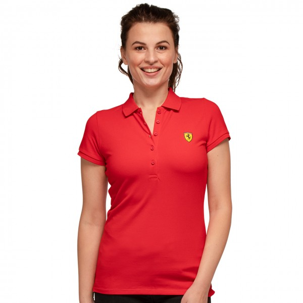Scuderia Ferrari Classica Poloshirt Donna
