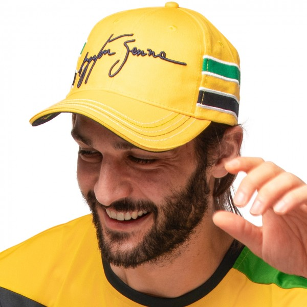 Ayrton Senna Cap Helm