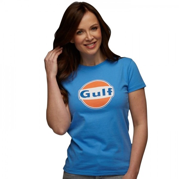 Gulf T-Shirt Dry-T Femmes cobalt