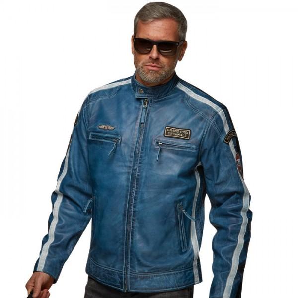 Gulf Jacket Classic Race navy blue